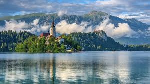 Slovenia Lake Slovenia Lake Scenery Mountains Lake Bled Nature 412283