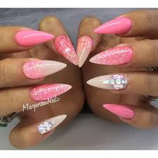 best 25 summer stiletto nails ideas on pinterest sparkly nails