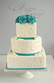 wedding planners okc stylish turquoise wedding cake wedding planner