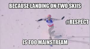 Ski Meme - third nc contest period here we go fis ski
