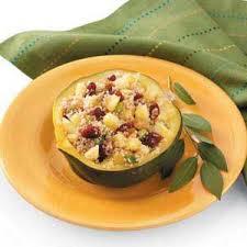 couscous stuffed acorn squash recipe taste of home