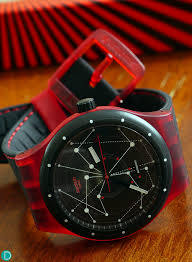 red swatch the collector s view review of the swatch sistem 51