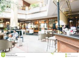 abstract blur and defocused luxury hotel and lobby interior stock