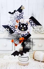 Halloween Teacher Gifts by Fall Home Decor Halloween Pinwheel Crate Paper