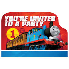 thomas and friends birthday party invitations thomas the train birthday party supplies theme party packs