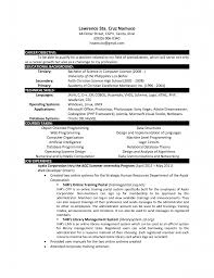 science resume exles computer science curriculum vitae sle resume