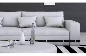 canap blanc 3 places un canapé design très confortable et d une grande qualité c est