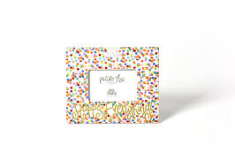 coton colors happy everything plate happy everything mini frame toss coton colors