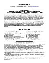 Sample Resume Purchasing Manager by Download Sample Resume Operations Manager Haadyaooverbayresort Com