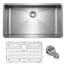 what size undermount sink fits in 30 inch cabinet giagni undermount 30 in x 19 in stainless steel single bowl kitchen sink