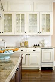 antique white cabinets kitchen traditional with backsplash