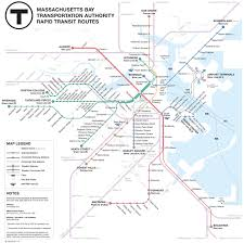 Metro Map Silver Line by Mbta Map Redesigns Bostonography