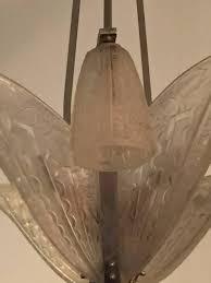 Art Deco Light Fixture French Art Deco Chandelier By Donna Paris U2013 1 Of A Kind Nj