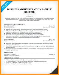 business administration resume format cute extraordinary u2013 inssite
