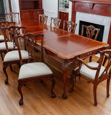 mahogany dining room set mahogany dining table by link ebth