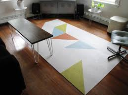 Carpet Squares Rug Create A Custom Rug With Flor Carpet Tiles Apartment Therapy