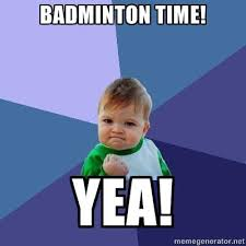 Badminton Meme - mu badminton well lads and lassies hope you re all facebook