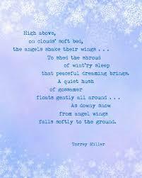 a matter of memories printable winter poem by torrey miller