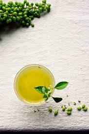 martini basil princess tofu verjus green grapes u0026 basil