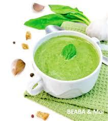salade verte cuite recette cuisine recette pour bébé de purée de laitue pour babycook de béaba cubes
