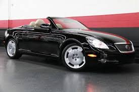 convertible lexus for sale 2006 lexus sc convertible for sale 183 used cars from 2 900
