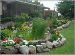 Rock Borders For Gardens Borders And Retaining Walls Premier Ponds Dc Md Va Pond