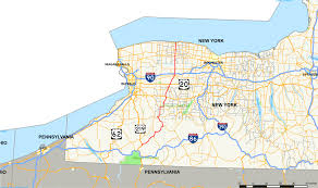 Map Of Buffalo New York by New York State Route 98 Wikipedia