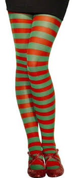 imagenes medias verdes panty rayas verdes rojas adulto tallas única
