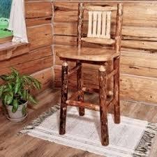 rustic pine bar stools foter