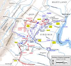 Map Of Richmond Virginia by List Of American Civil War Battles In Northern Virginia Wikipedia