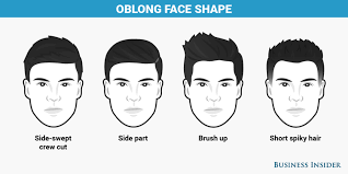 mens hairstyles for oblong faces best haircut for every face shape business insider