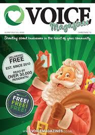 voice magazines alfreton u0026 villages edition xmas 2016 by voice