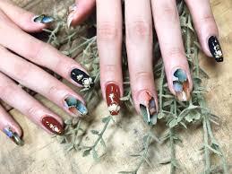 fall color nail designs