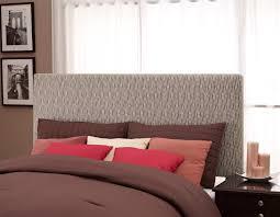 dhp furniture full queen headboard brown and tan dot pattern