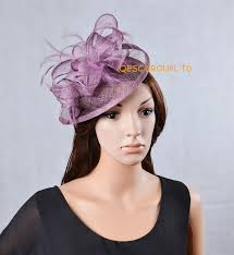 hair accessories melbourne new purple sinamay fascinator hat for weeding kentucky