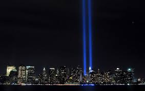 9 11 Memorial Lights In Memory Of All Those Who Died On September 11 2001