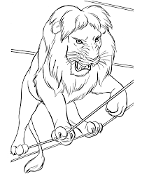 smart inspiration lion animal coloring pages lion king king
