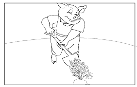 coloring pages pigs 7