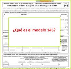 plantilla de nomina para rellenar cómo rellenar el modelo 145 cursosinemweb es
