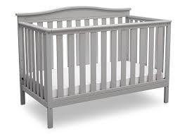 Easton 4 In 1 Convertible Crib Delta Children Toddler Guardrail White Baby