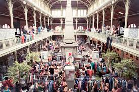 hunt for retro pieces at the brussels vintage market
