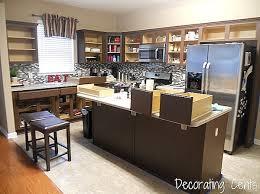 remodelaholic sleek dark chocolate painted cabinets