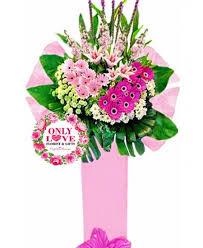 Flowers Same Day Delivery Only Love Kedai Bunga Congratulation Opening Flower Stand