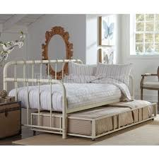 White Metal Daybed With Trundle Bedroom White Metal Daybed With Trundle Size Pop Up