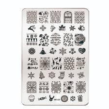 sixty nine pattern nail art stencils incredible nail art vinyls