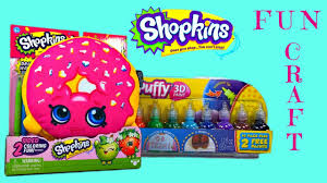 shopkins pillow puffy paint diy summer craft for kids youtube