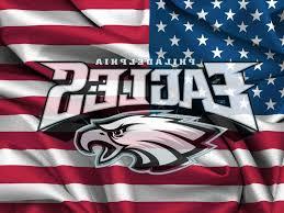 Philadelphia Flag Best Hd Philadelphia Eagles Logo On Usa Flag Windy Canvas Desktop Cdr