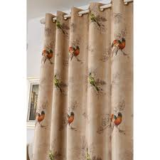 bird insulated chic beautiful grommet curtains and drapes