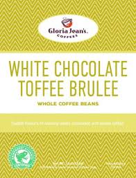 Franchise Coffee Toffee white chocolate toffee brulee coffee gloria jean s gourmet coffees