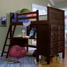 Space Loft Bed With Desk Bunk Bed With Table Underneath Foter